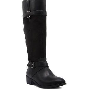 Rampage tall black boots